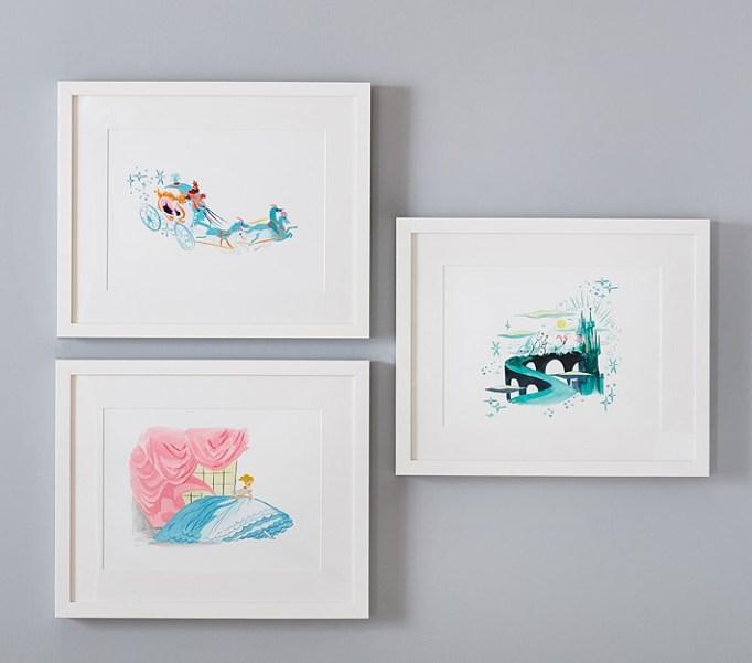Nursery Artwork That's One-of-a-Kind — & Affordable: Disney Princess Cinderella