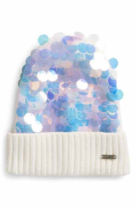 Kids Hats & Gloves to Stock Up On (Because You Know They've Lost Theirs Already): Paillette Sequin Hat