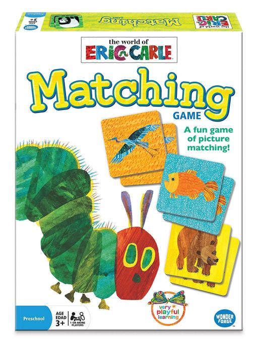 Best Board Games for Families Eric Carle Matching