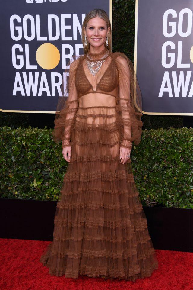 Gwyneth Paltrow 2020 Golden Globes