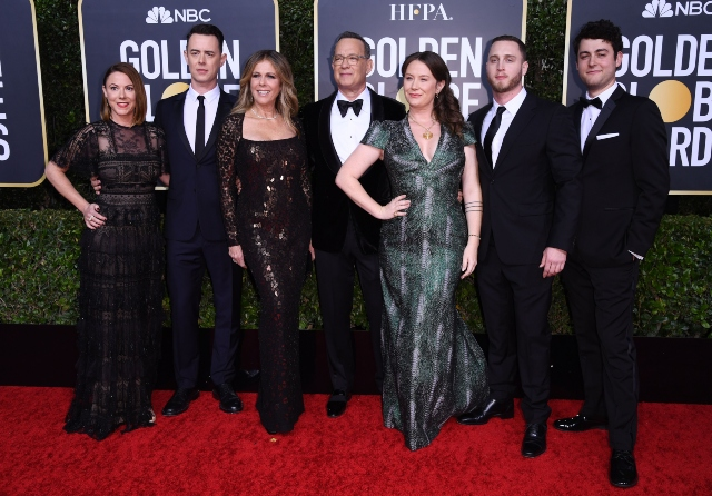 Family Affair! These Stars Brought Their Relatives to the Golden Globes.