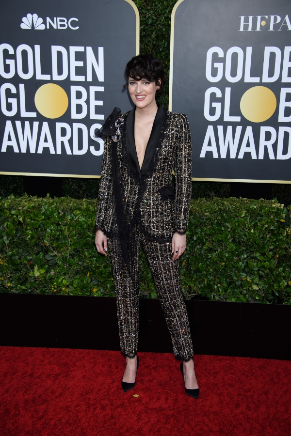 Golden Globes 2020: Phoebe Waller-Bridge & Other Stars Who Slayed the Pantsuit Trend.