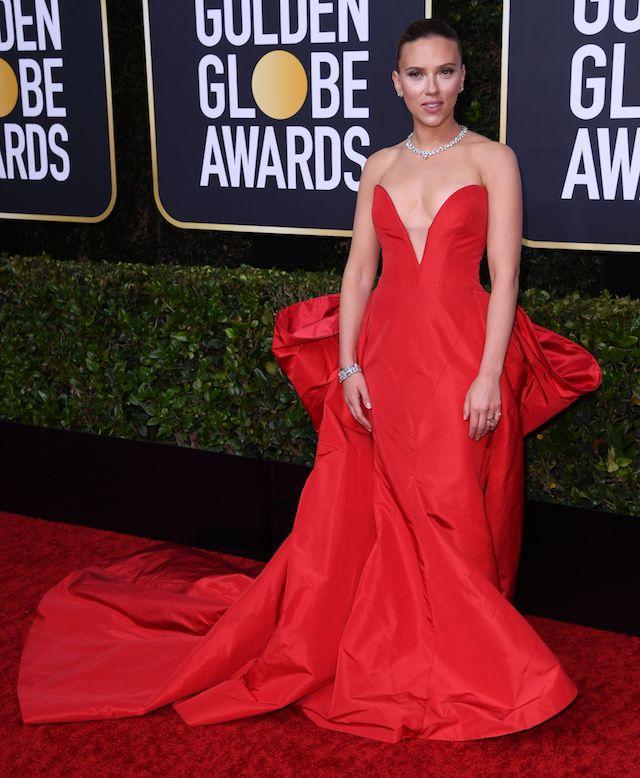 Scarlett Johansson 2020 Golden Globes