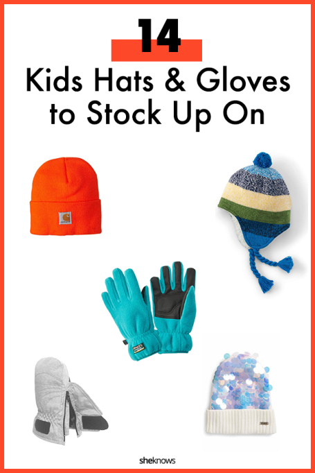 Kids Hats and Gloves for the Winter