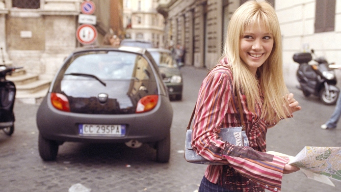 Hilary Duff in 'Lizzie McGuire' movie.