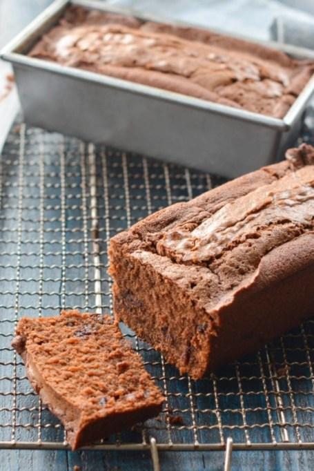 Triple Chocolate Loaf Cake.