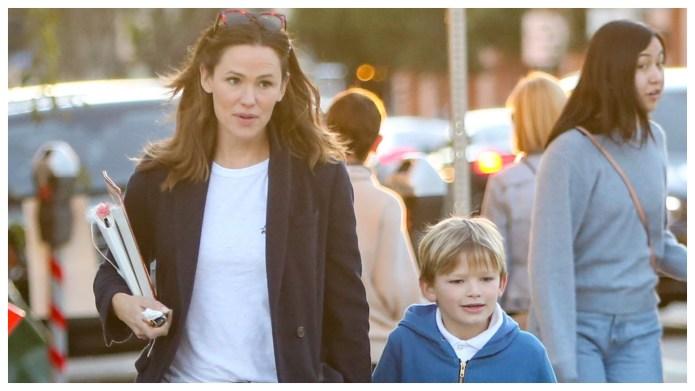 Jennifer Garner's Son, 7, Wrote Her