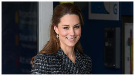 Kate Middleton Proudly Poses as 10-Year-Old