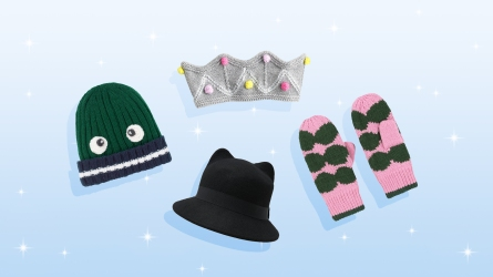 hats and gloves for kids