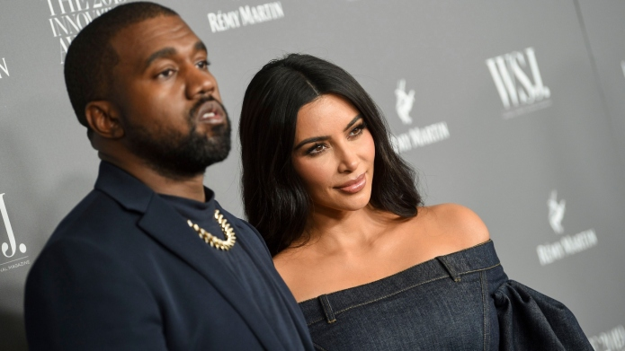 Kim Kardashian & Kanye West celebrated