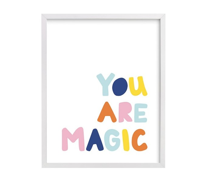 Nursery Artwork That's One-of-a-Kind — & Affordable: You Are Magic Wall Art by Jessica Prout
