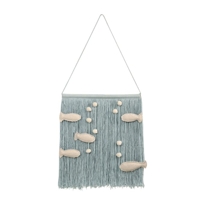 Nursery Artwork That's One-of-a-Kind — & Affordable: Lorena Canals Ocean Wall Hanging
