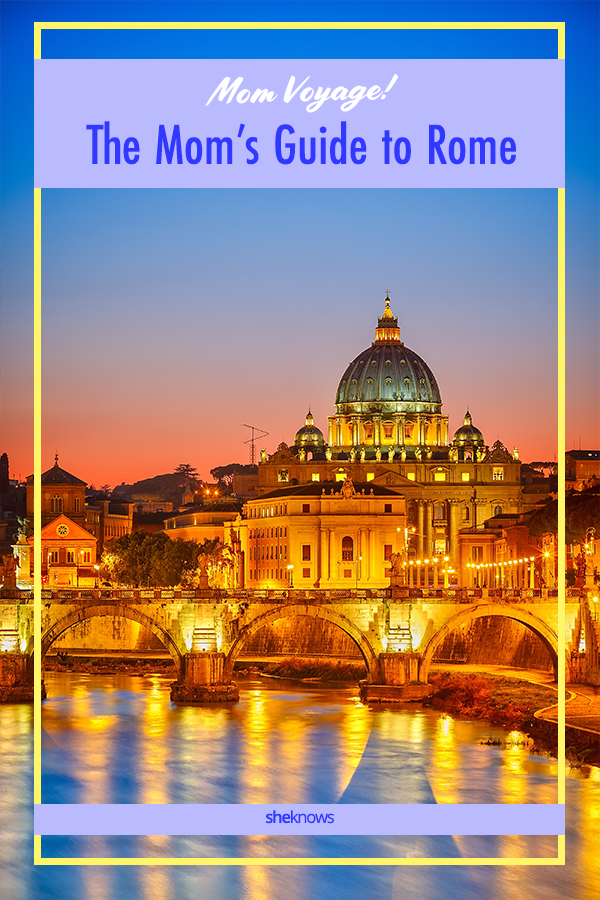 Mom Travel Guide to Rome, Italy