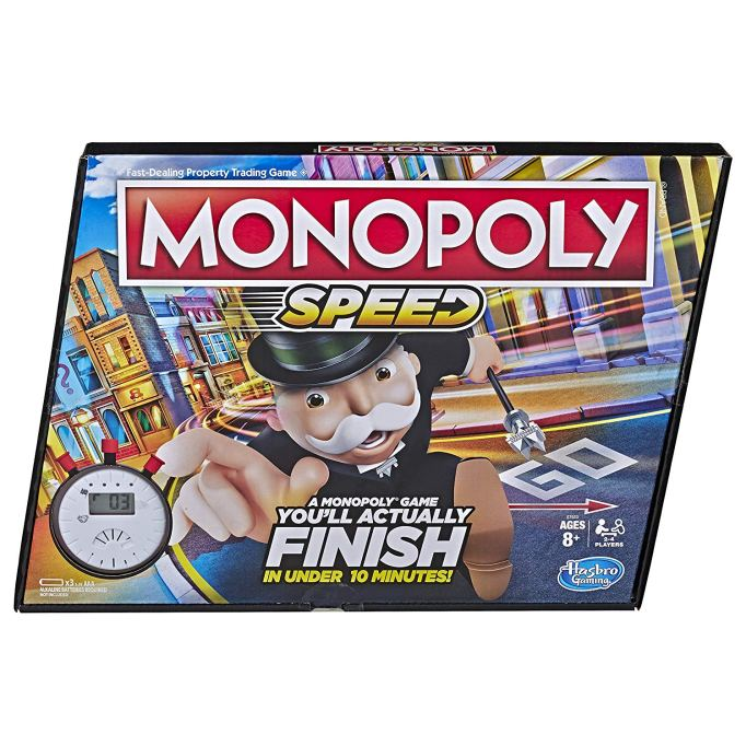 Best Board Games for Families Monopoly Speed