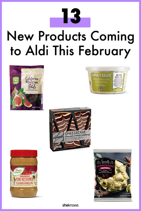 New Aldi Products to Try This February #aldi #groceryshopping #food #premadefood #dinner #snacks