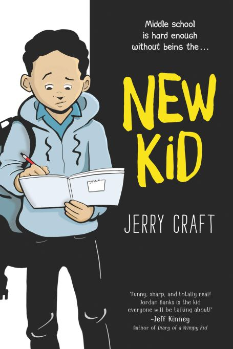 Children's Book Awards 2020 'New Kid,' by Jerry Craft