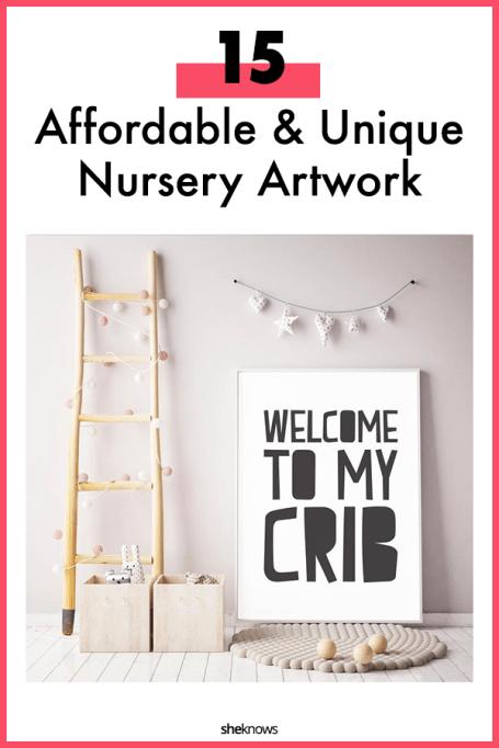 Affordable Nursery Art