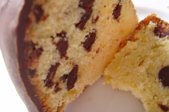Orange Chocolate Cake.