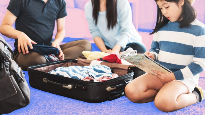 Packing hacks for kids
