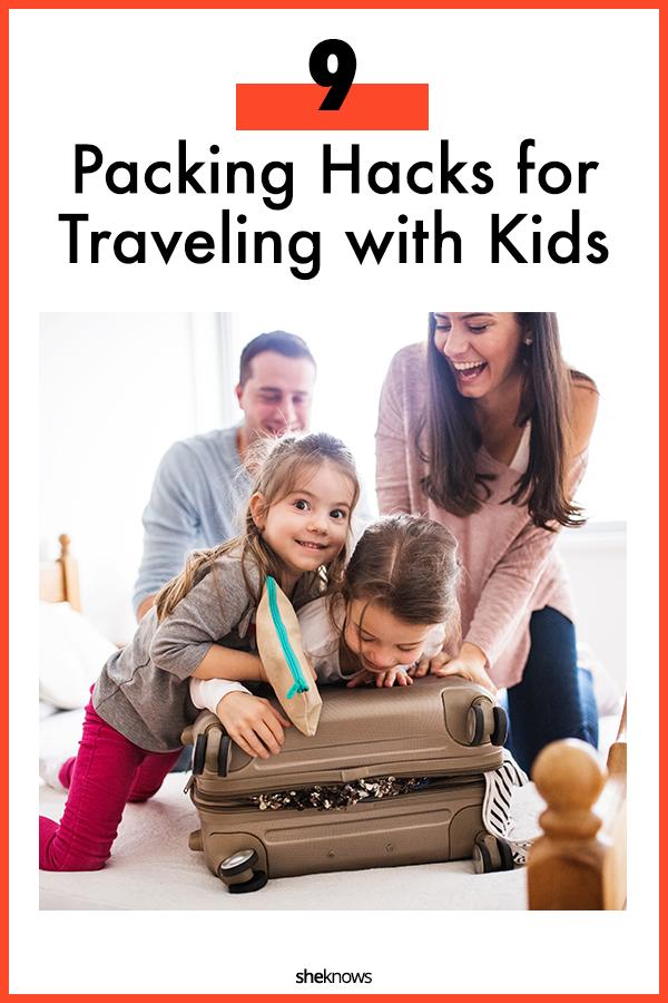 packing hacks for kids