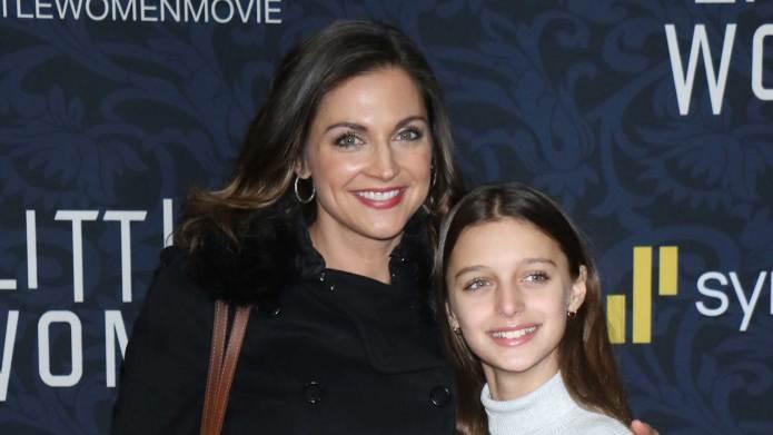 Paula Faris and daughter