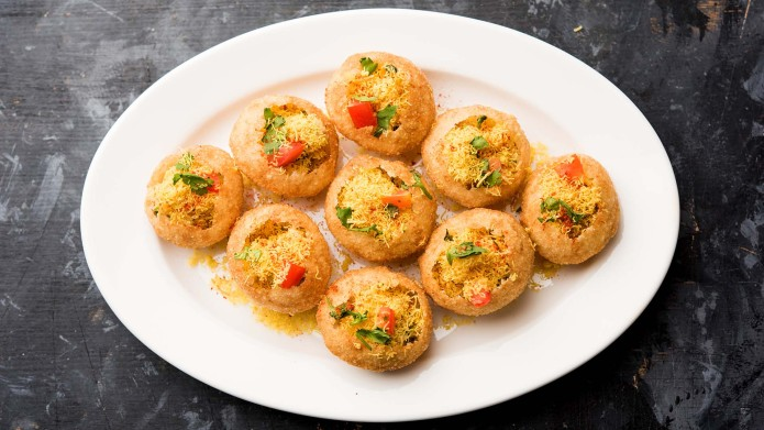 Sev puri - Indian snack and