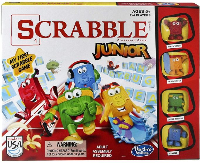 Best Board Games for Families Scrabble Junior