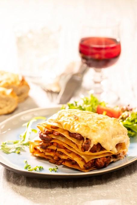 Libra: Roasted vegetable lasagna