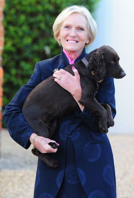 Mary Berry with Her New Puppy Darcey