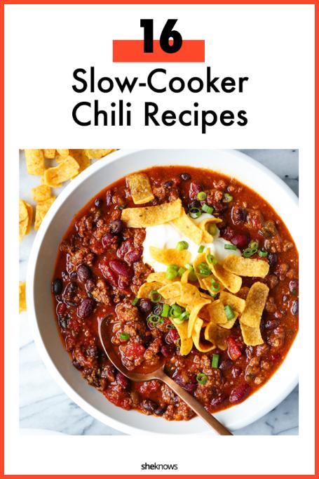Slow-Cooker Chili Recipe