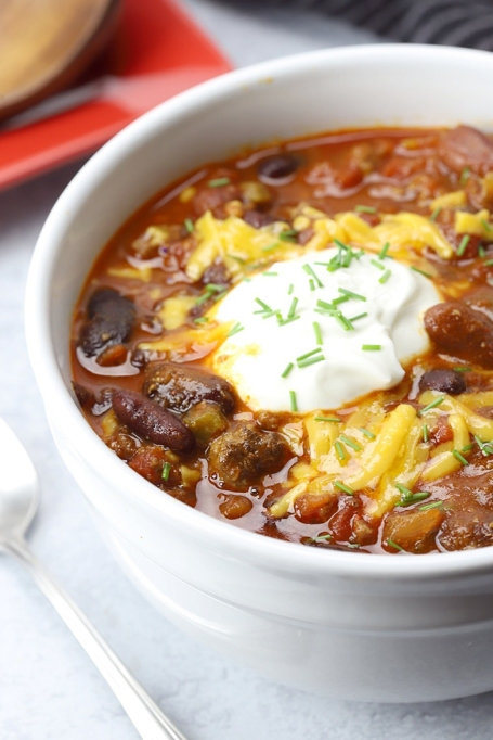 SheKnows | Slow-Cooker Chili Recipes Sure to Get You Through the Super Bowl—and the Rest of Winter