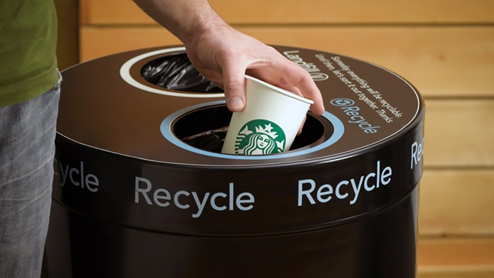 Starbucks Recycling