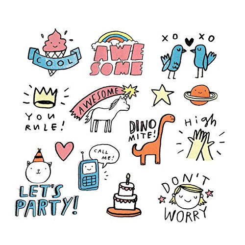 Class Valentine's Day Gifts Temporary Tattoos