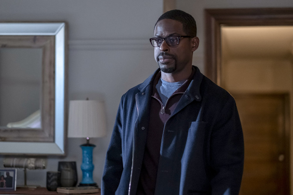 "THIS IS US -- ""Lights and Shadows"" Episode 410 -- Pictured: Sterling K. Brown as Randall -- (Photo by: Ron Batzdorff/NBC)"