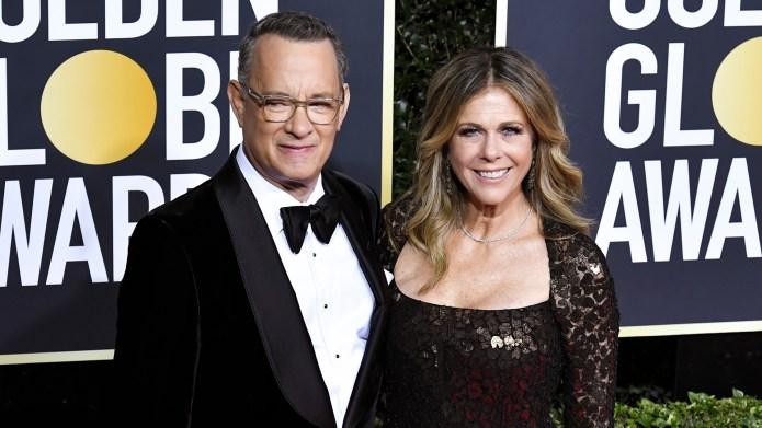 Tom Hanks, Rita Wilson at the