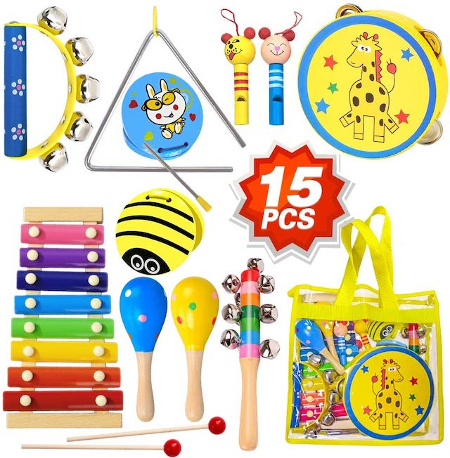 Toyerbee best music set for kids on Amazon