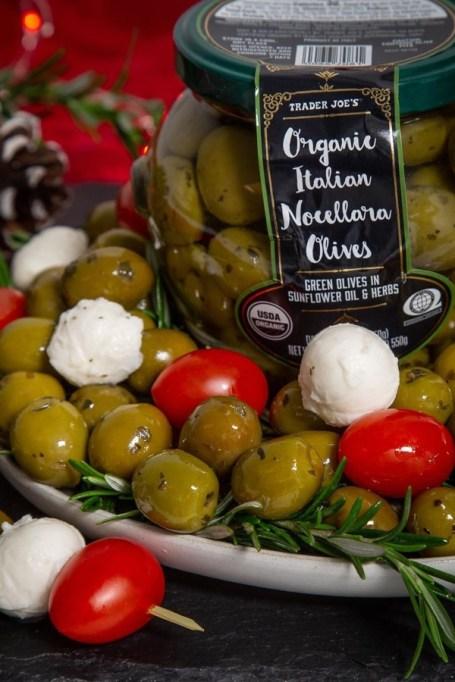 Organic Italian Nocellara Olives.
