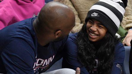 Kobe Bryant, Gianna Bryant. Kobe Bryant