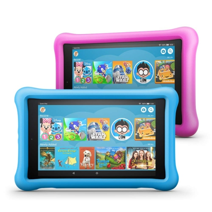 Fire HD Kids Edition Tablet.