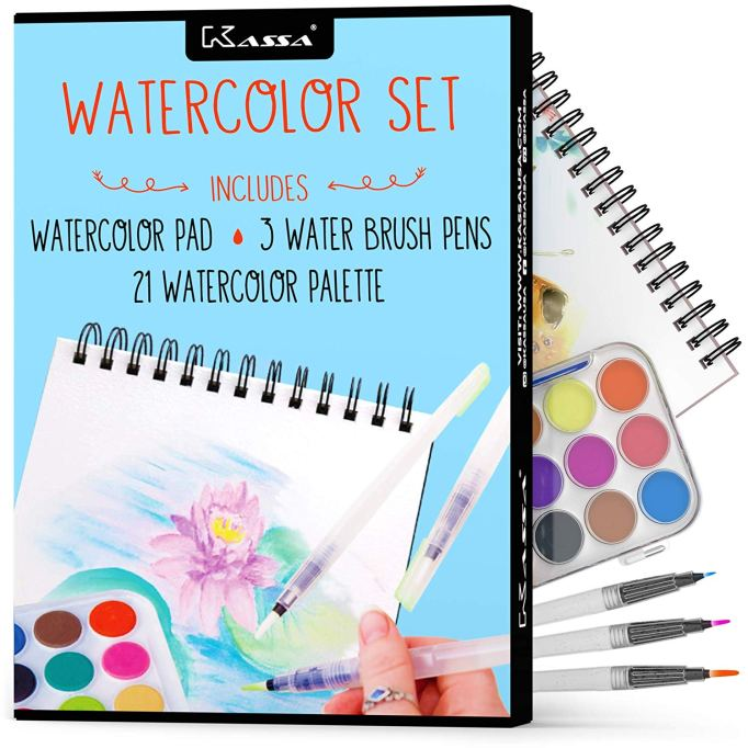 Best Valentine's Day Gifts for Kids Watercolor Set