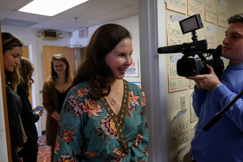 Ashley Judd campaigns for Elizabeth WarrenElizabeth Warren, US Presidential Election Campaigning, Lebanon - 24 Jan 2020
