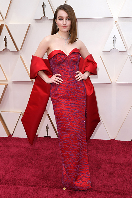 Kaitlyn Dever, 92nd Annual Academy Awards, Arrivals, Fashion Highlights, Los Angeles, USA - 09 Feb 2020Wearing Louis Vuitton, Custom