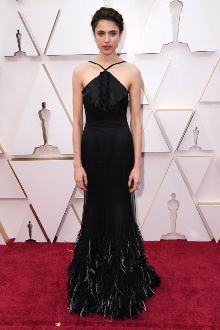 Margaret Qualley 92nd Annual Academy Awards, Arrivals, Fashion Highlights, Los Angeles, USA - 09 Feb 2020 Wearing Chanel Same Outfit as catwalk model *10325735br