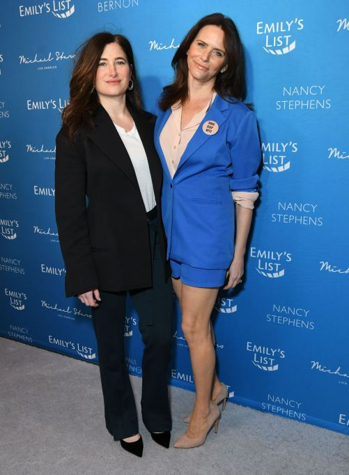 Kathryn Hahn and Amy Landecker at EMILY's List Brunch and Panel Discussion, 'Defining Women' in Los Angeles on February 3rd.
