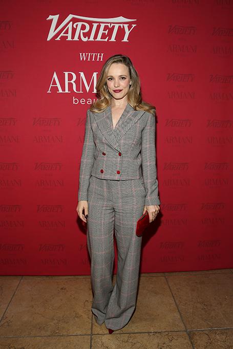 Rachel McAdams at Variety x Armani Makeup Artistry Dinner, Sunset Tower, Los Angeles, USA - 04 Feb 2020
