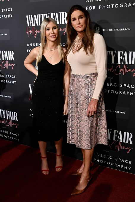 Sophia Hutchins and Caitlyn Jenner at the 'Vanity-Fair Hollywood Calling' Exhibition in Los Angeles February 4th