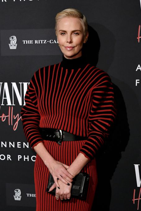 Charlize Theron at the 'Vanity-Fair Hollywood Calling' Exhibition in Los Angeles February 4th.