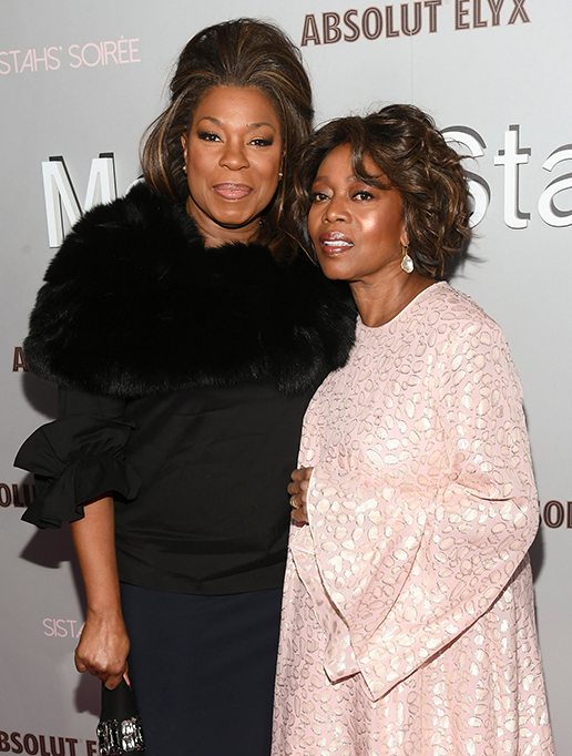 Lorraine Toussaint and Alfre WoodardAlfre Woodard's 11th Annual Sistahs' Soiree, Arrivals, Absolut Elyx House, Los Angeles, USA - 05 Feb 2020