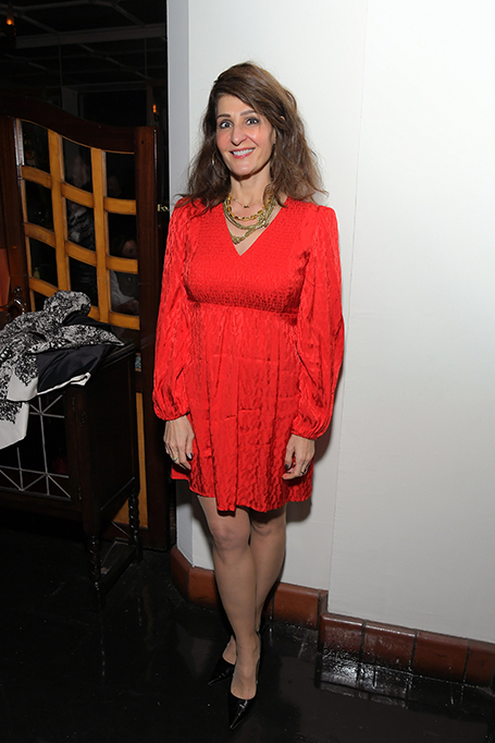 Nia Vardalos Attends the Cadillac Oscar Week Celebration at Chateau Marmont on February 6, 2020 in Los Angeles, California.