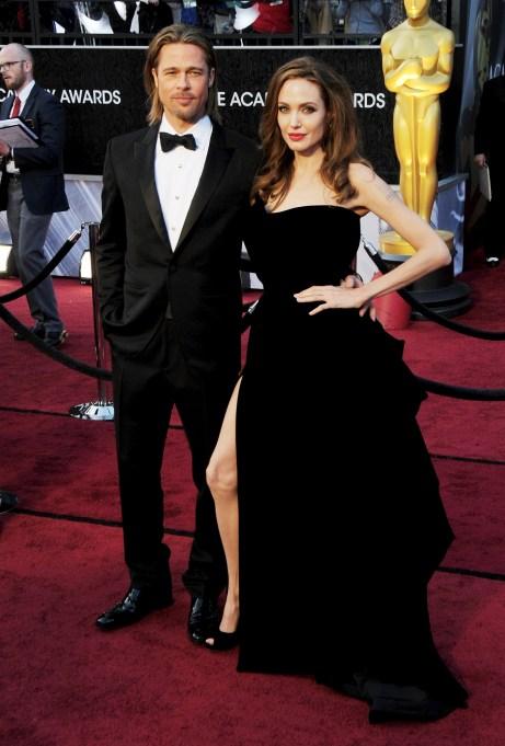Brad Pitt, Angelina Jolie84th Annual Academy Awards, Arrivals, Los Angeles, America - 26 Feb 2012